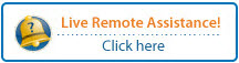 Click here for live remote assistance.